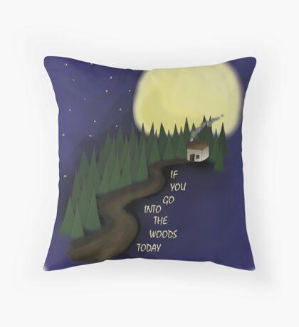 Woods - Niamh  Throw Pillow