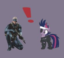 Solid Snake Vs Twilight Sparkle by tyko2000