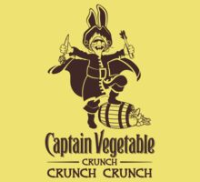 Captain Vegetable Kids Tee