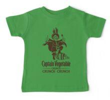 Captain Vegetable Baby Tee