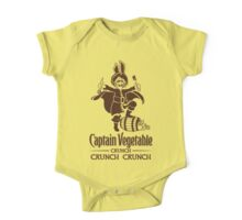 Captain Vegetable One Piece - Short Sleeve