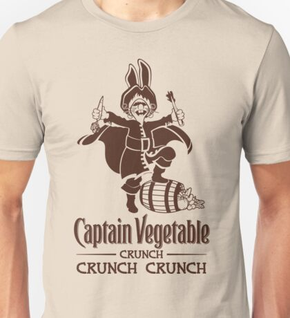 Captain Vegetable Unisex T-Shirt