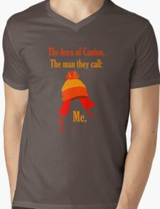 The Hero of Canton Mens V-Neck T-Shirt