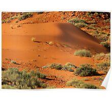 The Sand Dunes of Arizona ©  Poster