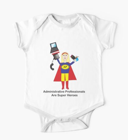 Administrative Professional Super Hero (Blonde) Kids Clothes