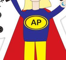 Administrative Professional Super Hero (Blonde) Sticker