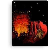 The Burning Bush Canvas Print