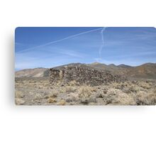 Stonework In Ruins Canvas Print