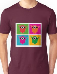 Colorful Minions Unisex T-Shirt