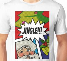 Pop Art Jingle Bells Unisex T-Shirt
