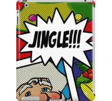 Pop Art Jingle Bells iPad Case/Skin