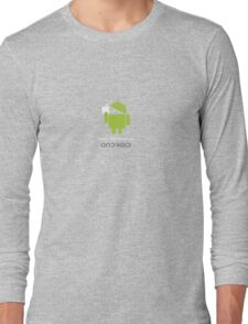 """I wish I had bought an android..."" Long Sleeve T-Shirt"