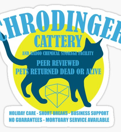 Schrodingers Cattery Sticker