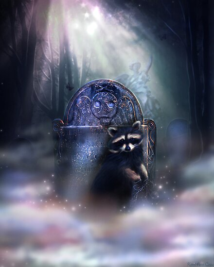 Raccoon Spirit by Kerri Ann Crau