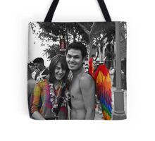 Touched by an Angel Tote Bag