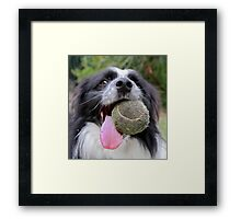 Ready when you are! Framed Print