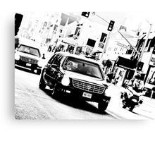 The President's Limo on Sunset Blvd Canvas Print