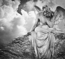 Dreaming Angel by olga zamora