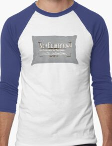 New Fluffytown Men's Baseball ¾ T-Shirt