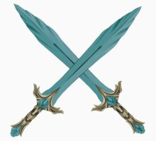 Epic Glass Sword Cross Kids Clothes