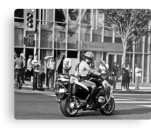 Waiting for The President... Metal Print