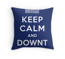 Keep Calm and DOWNTON! Throw Pillow