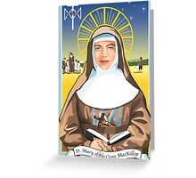 Saint Mary of the Cross MacKillop  Greeting Card