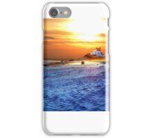Digital Colouring - East Beach, Watch Hill Rhode Island iPhone Case/Skin