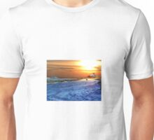 Digital Colouring - East Beach, Watch Hill Rhode Island Unisex T-Shirt