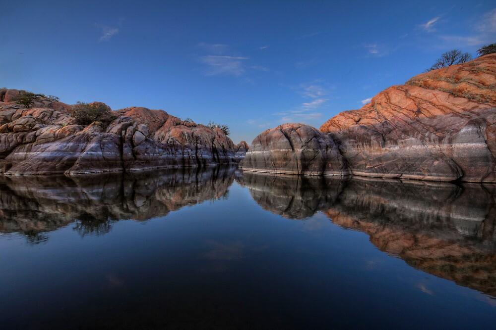 Blue Float by Bob Larson