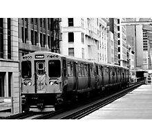 Brown Line Photographic Print