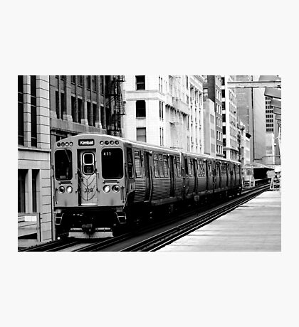 Brown Line Photographic Print