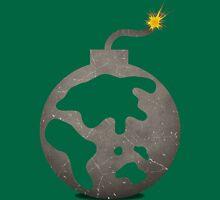Planet Bomb Unisex T-Shirt