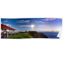 Byron Bay Lighthouse - Panorama Poster