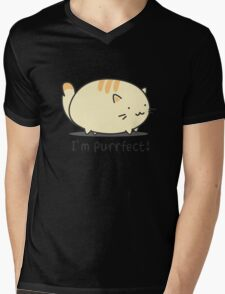 I'm purrfect! Mens V-Neck T-Shirt
