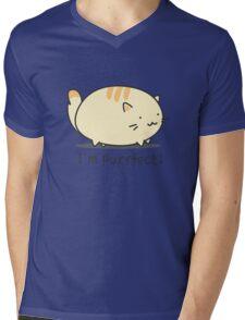 I'm purrfect! Mens V-Neck T-Shirt