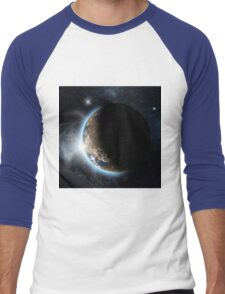 Earth 3 Men's Baseball ¾ T-Shirt