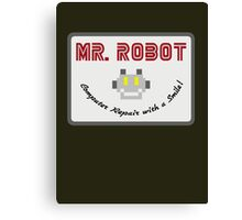 Mr Robot Canvas Print
