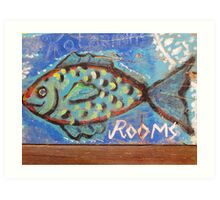 Rooms for a Fish Art Print