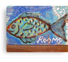 Rooms for a Fish Canvas Print
