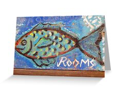 Rooms for a Fish Greeting Card