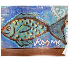 Rooms for a Fish Poster