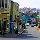 Historic Downtown Marblehead #1 by Rebecca Dru