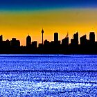 SUNSET SYDNEY AUSTRALIA by normanorly