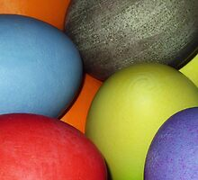 Colored eggs by zzsuzsa