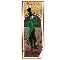Art Nouveau Once-ler Poster