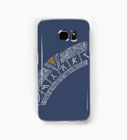 Earth (Navy) Samsung Galaxy Case/Skin