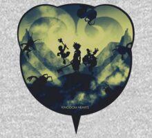 Kingdom Hearts One Piece - Short Sleeve