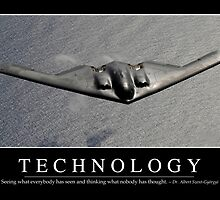 Technology: Inspirational Quote and Motivational Poster by StocktrekImages