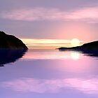 Lilac Sunrise by Hugh Fathers